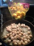 Meyer Lemons and Scallops