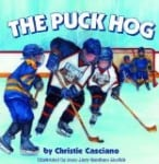 puck, hockey, book, kids, ice hockey, puck hog