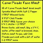 carne picado tacos, 2x induction cooker, pan, pot, induction, fagor, dana vento, foodie, recipe, easy to make,