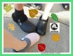 Fall Into Crocs, kids, boys, girls, fur lined, durable, shoes, fashion, slide on, walk, durable shoes, baya line cloth, blitzen ii clog, relaxed fit, pearl pink, black, dana vento, baya lined crocs
