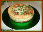 Holiday Baking, ALDI, Cheesecake, The ALDI Christmas Cheesecake, cream cheese, cooking, baking, holidays, easy, baking with ALDI, morsels, vanilla, sugar, eggs, dana vento